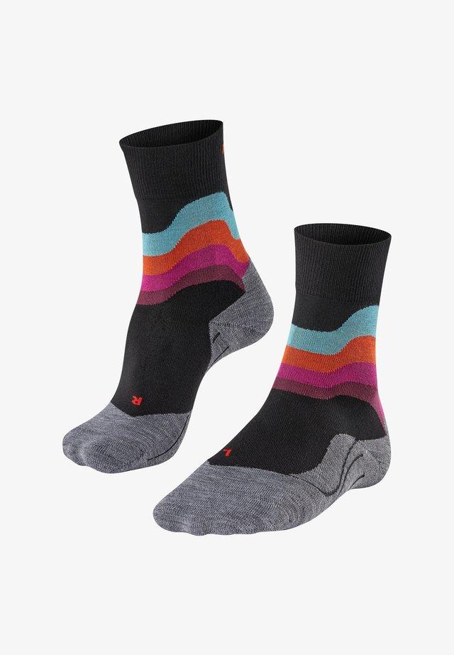 RU4 WAVE - Sports socks - black