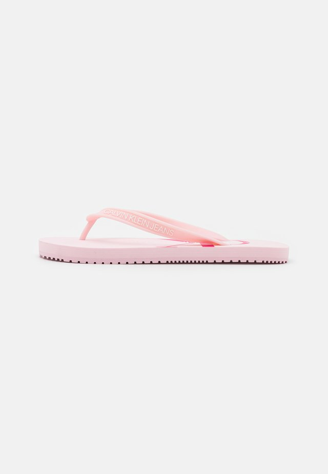 BEACH MONOGRAM - Teensandalen - pearly pink