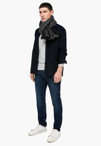 s.Oliver - Scarf - black check - 0