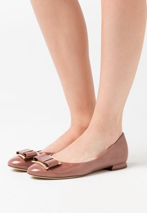 Ballet pumps - dark rose