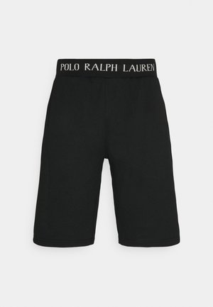 LOOP BACK  - Pyjama bottoms - black