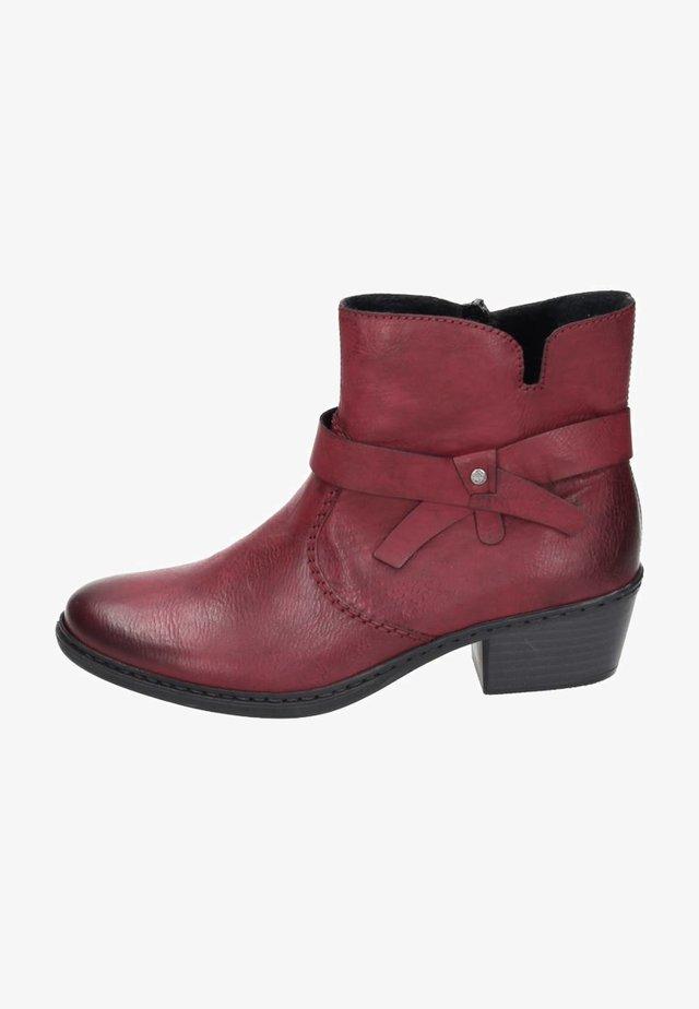 Boots à talons - wine