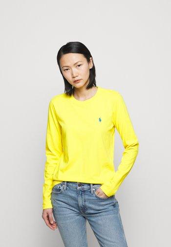 Long sleeved top - university yellow