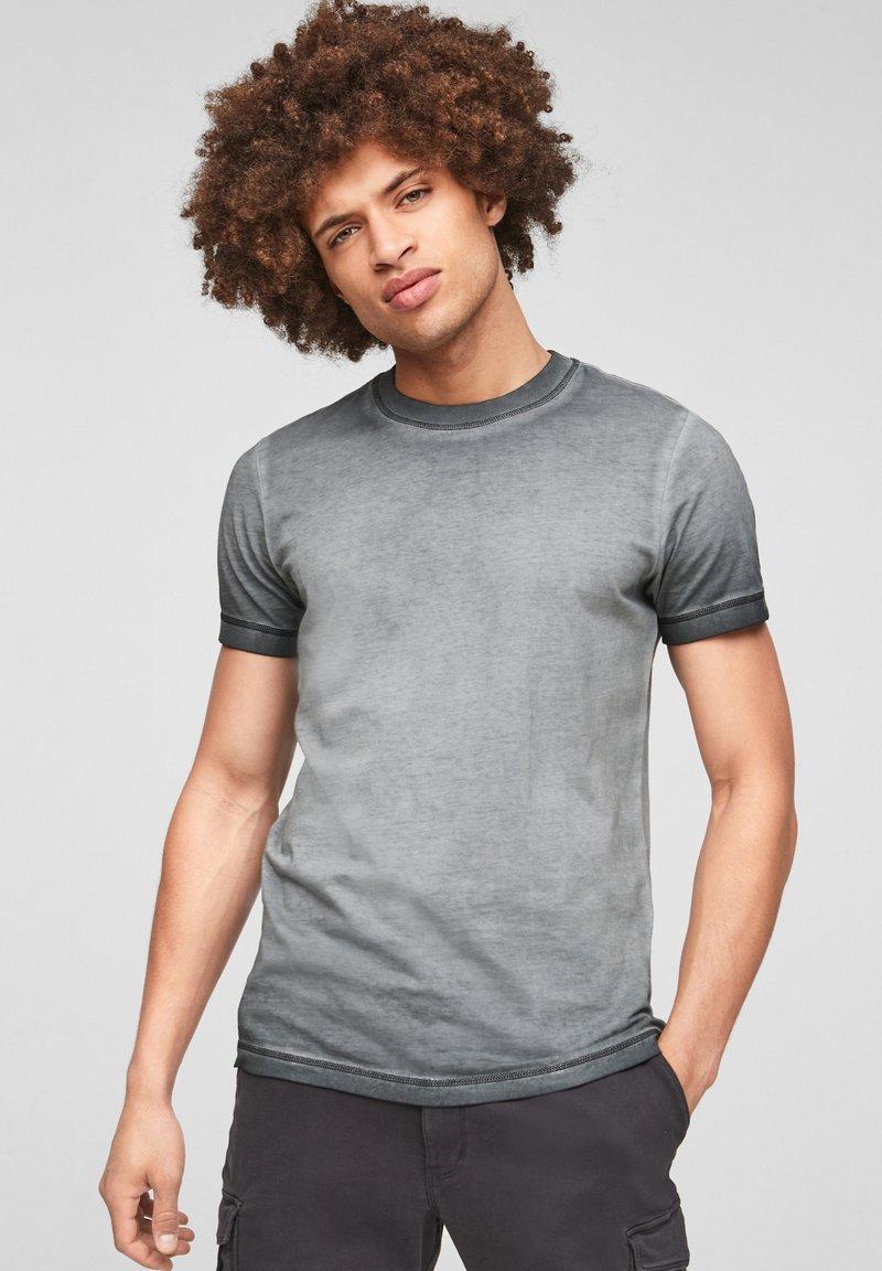 Q/S designed by - Basic T-shirt - grey