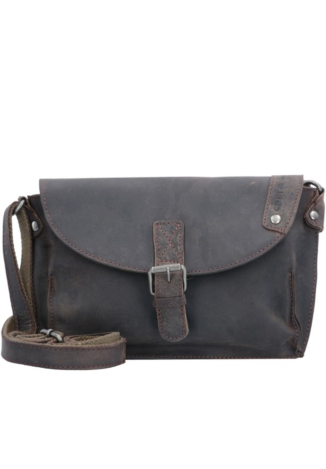 VINTAGE REVIVAL LEDER - Across body bag - braun