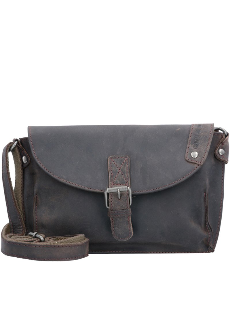 Greenburry - VINTAGE REVIVAL LEDER - Across body bag - braun