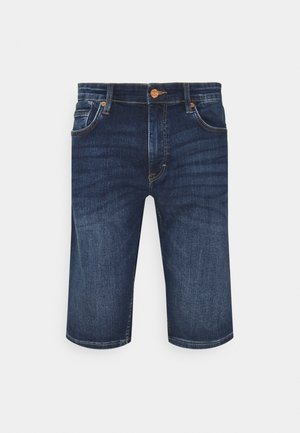 BERMUDA - Short en jean - dark blue