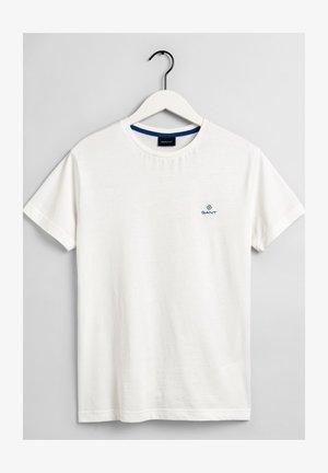 CONTRAST - Jednoduché triko - off white