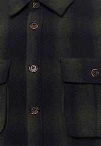 Anerkjendt - AKOSCAR CHECK OVERSHIRT - Summer jacket - pacific - 2
