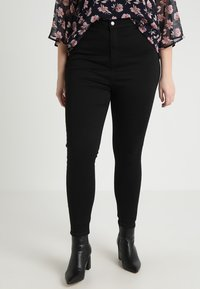 Even&Odd Curvy - Jeans Skinny Fit - black - 0