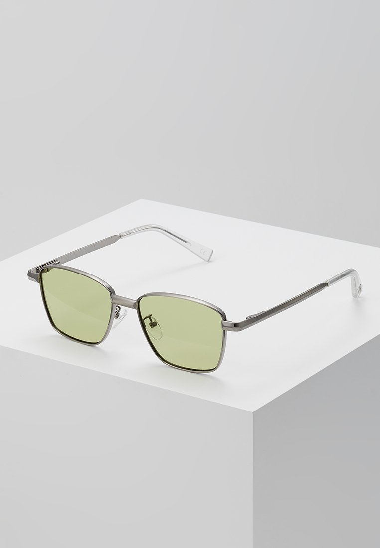 Le Specs - SUPASTAR - Solbriller - brushed silver-coloured