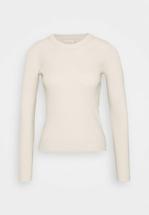 PCBASSY O NECK - Jumper - whitecap gray