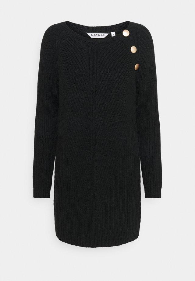 MBOUTON - Robe pull - noir