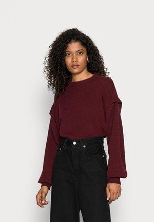 SWEATER POWER - Pullover - dark red