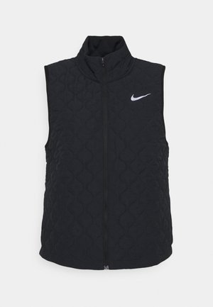 AEROLAYER VEST - Weste - black/reflective silver
