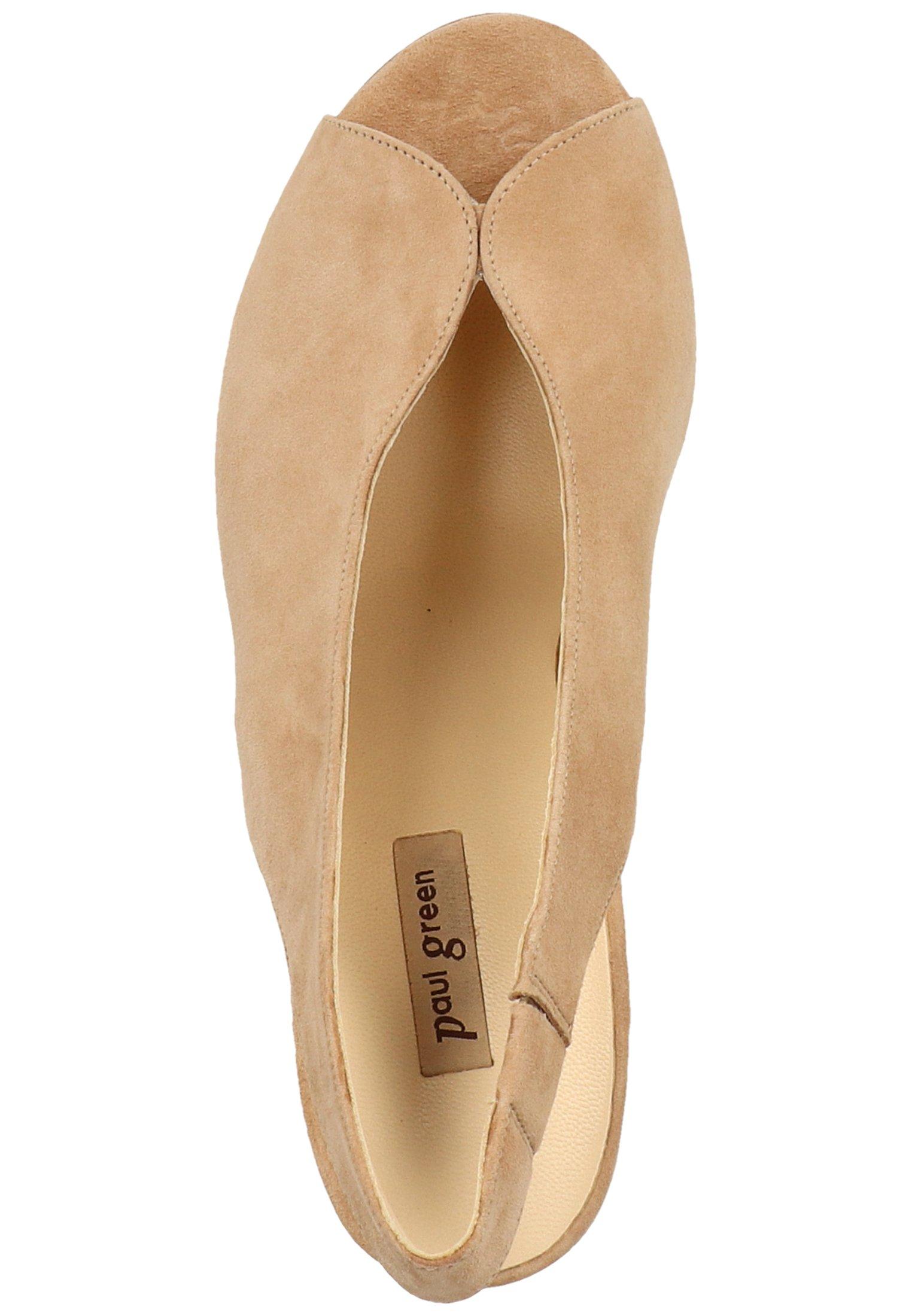 High Heel Peeptoe brown