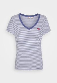 Levi's® - PERFECT V NECK - T-shirts basic - blue indigo - 4
