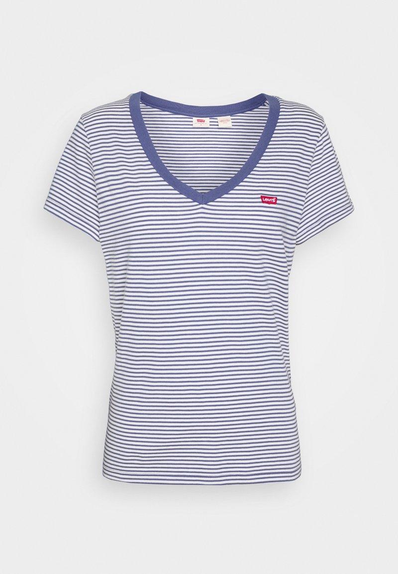 Levi's® PERFECT V NECK - T-Shirt basic - colony blue/blau uyj7N8