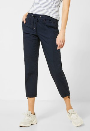 PAPER TOUCH - Trousers - blau