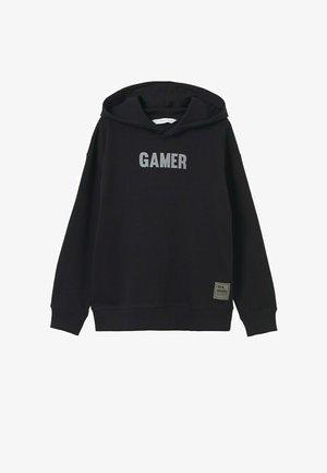 KATOENEN  MET BOODSCHAP - Sweater - zwart