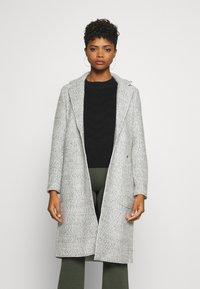 ONLY - ONLSTACY COAT - Klasický kabát - light grey melange - 0