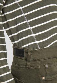 s.Oliver - Jumper - khaki stripes - 6