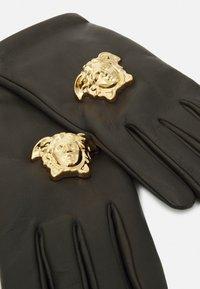 Versace - GLOVES UNISEX - Gloves - kaki/gold-coloured - 2