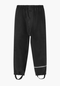 CeLaVi - RAINWEAR PANTS SOLID UNISEX - Rain trousers - black - 1