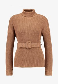 Fashion Union Petite - HOVEA - Jumper - chocolate - 4