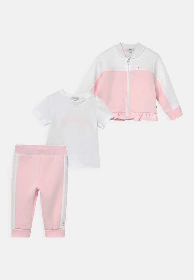 SET - Trainingspak - pink/white