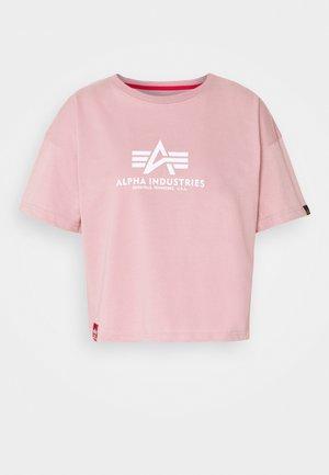 BASIC - Camiseta estampada - silver pink