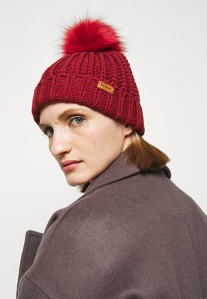 SALTBURN BEANIE - Beanie - burnt red