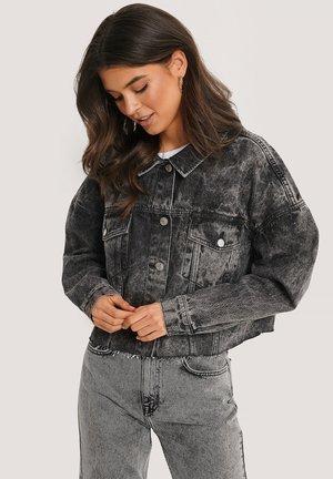 Denim jacket - black