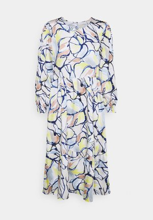 DRESS PRINTED - Robe d'été - pearl white