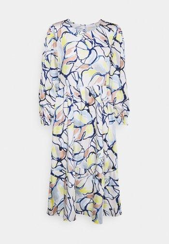 DRESS PRINTED - Day dress - pearl white