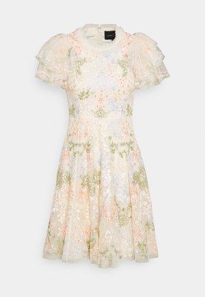 ELIN BLOSSOM MINI DRESS - Vestito elegante - champagne