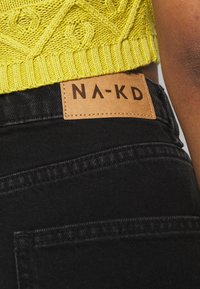 NA-KD - FULL LENGTH  - Jeans relaxed fit - black - 4