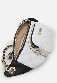 Guess - ILLY CROSSBODY BELT BAG - Bum bag - white multi - 3