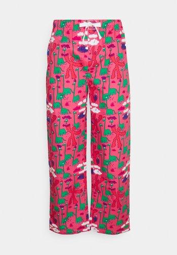 PYJAMA PANT DINO - Pyžamový spodní díl - pink