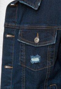 INDICODE JEANS - BRYNE - Denim jacket - dark-blue denim - 4