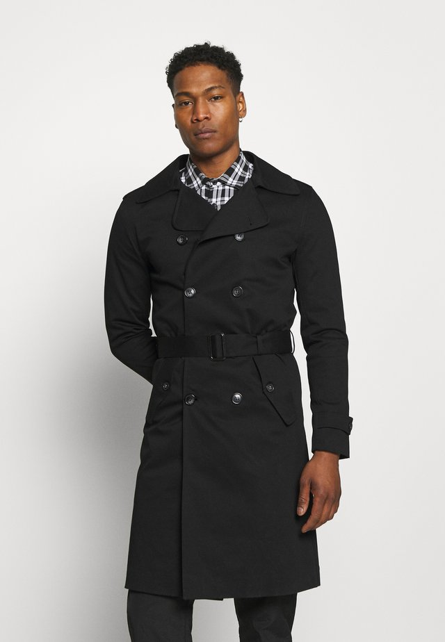 Trenchcoat - black