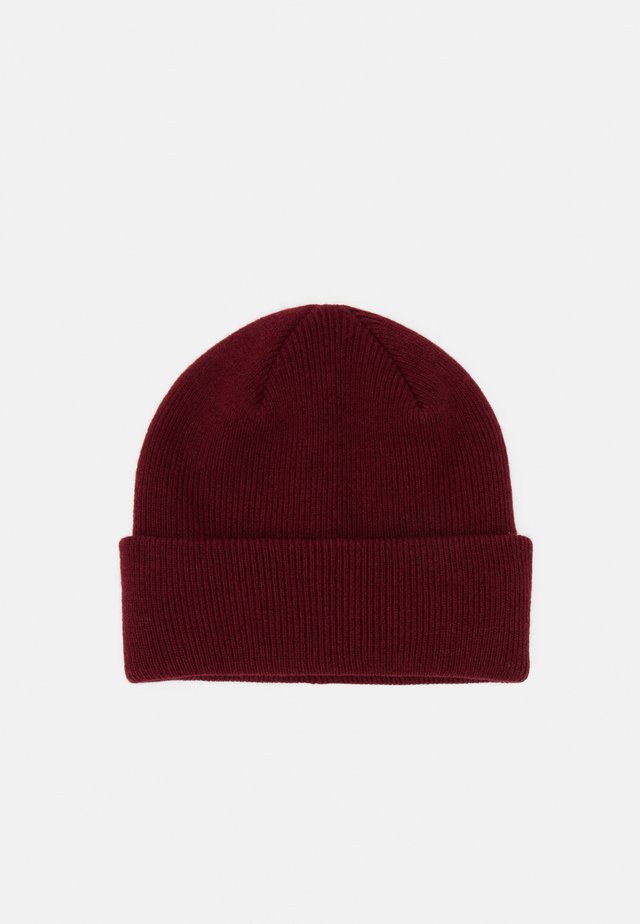 DUST BEANIE - Bonnet - dark red
