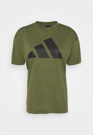 WIN 2.0 TEE - T-shirt imprimé - khaki