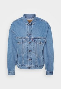 Levi's® - STAY LOOSE TRUCKER UNISEX - Denim jacket - med indigo - 4