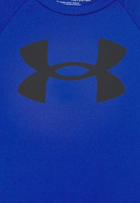 Under Armour - TECH BIG LOGO UNISEX - Camiseta estampada - royal - 2
