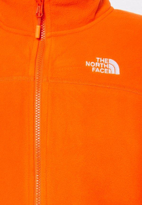 The North Face GLACIER FULL ZIP NEW - Kurtka z polaru - flame/jasnoczerwony Odzież Męska XFAL