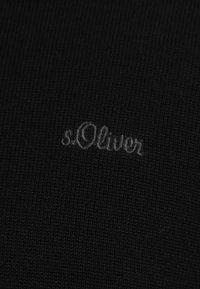 s.Oliver - LANGARM - Jumper - black - 3