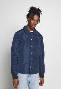 New Look - PADDED COACH JACKET - Light jacket - navy - 0