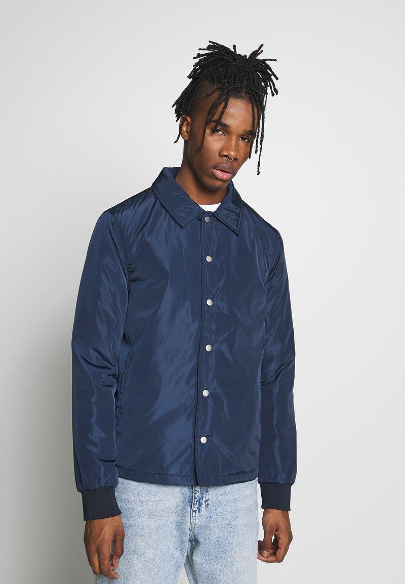 New Look - PADDED COACH JACKET - Light jacket - navy