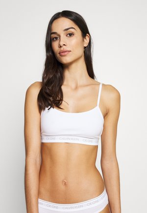 ONE UNLINED BRALETTE - Top - white